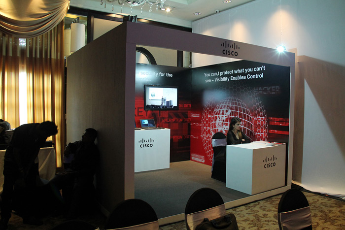 Exhibition Stall Lights : Cisco exhibition stall u live production u leader in event