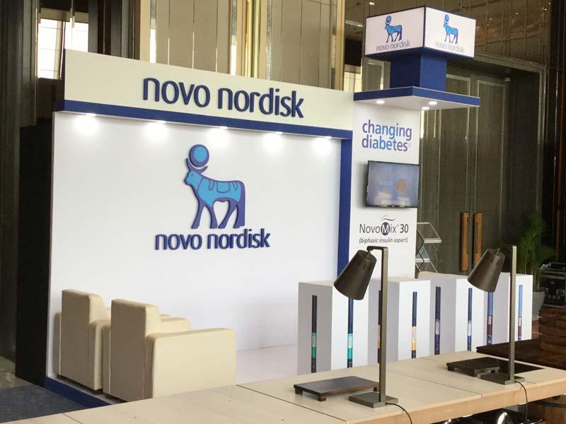 Exhibition Stall Builders In Sri Lanka : Novo nodisk exhibition stall u2013 live production u2013 leader in event